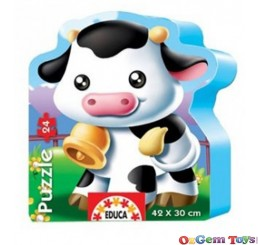 Cow 24 Piece Puzzle Educa
