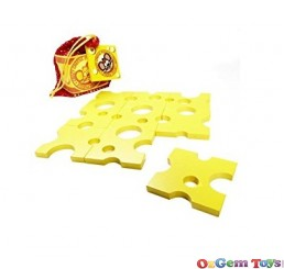 Crazy Cheese Puzzle All Wooden Game