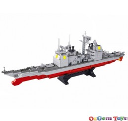 Cruiser Sluban Building Brick Set 883 Pieces