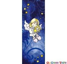 Dark Blue Angelis Heye Puzzle Mini Vertical Jigsaw Puzzle 75 Pieces