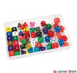 Dice Deluxe Set 54 Piece