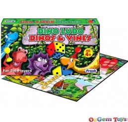 Dinos and Vines Board Game