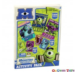 Disney Pixar Monsters University Activity Pack with Puzzles and Card Games