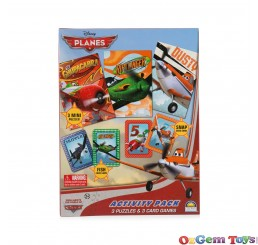 Disney Planes Activity Pack with Puzzles and Card Games