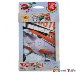 Disney Planes Set of 3 Mini Tray Puzzles