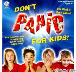 Don't Panic For Kids Picture Card Game