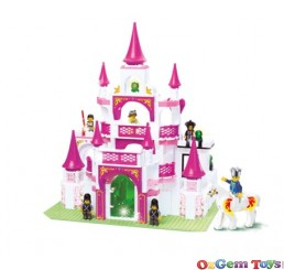 Dream Castle Building Set 508 Pieces