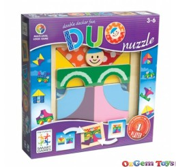 Duo Puzzle Multi Level Logic Game