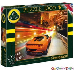 Out on the Town Elise Clementoni Jigsaw Puzzle 1000 Piece
