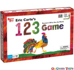 Eric Carle 123 Game Roosters Off to See The World