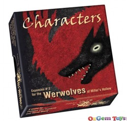 Expansion 3 Characters The Werewolves of Millers Hollow Game