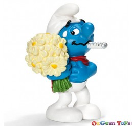 Get Well Soon Smurf Toy Figure Schleich SC20752