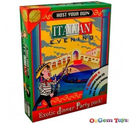 Host Your Own Italian Evening Cheatwell Games