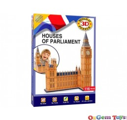 Houses of Parliament Cubic Fun 3D Puzzle 116 Pieces