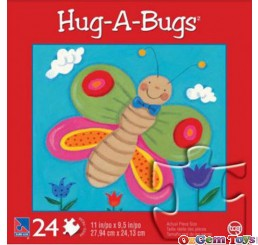 Hug A Bugs Butterfly 24 pc Puzzle by Sure Lox
