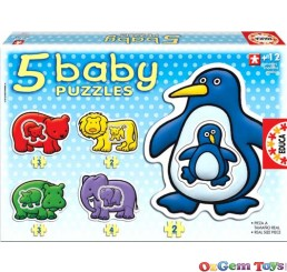 Educa 5 Baby Puzzles Maternal