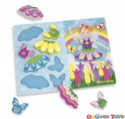 Chunky 10 pc Puzzle Dress Up Fairy by Melissa and Doug