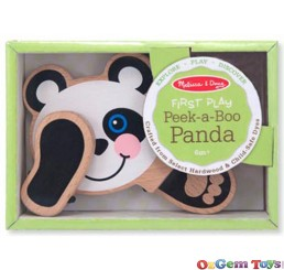 Peek A Boo Panda by Melissa and Doug