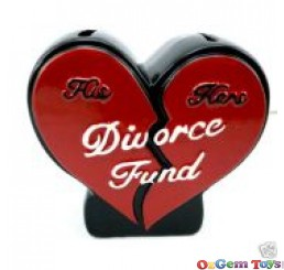 Novelty Divorce Fund Money Box