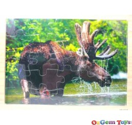 Moose Wooden Jigsaw Puzzle