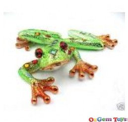Bright Frog Resin Plaque