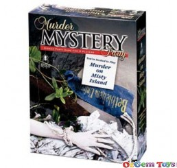 Murder on Misty Island Murder Mystery Dinner Party Game