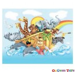 Noah & the Ark Jigsaw Puzzle 63 Pieces