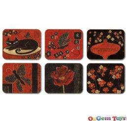 Orientals Coasters 6 in a box