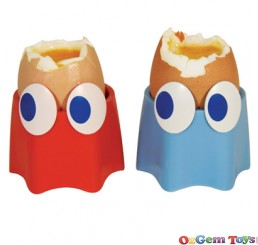 Pac Man Ghost Novelty Egg Cups