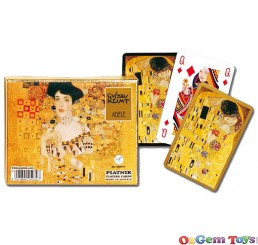 Piatnik Gustav Klimt Adele Double Pack Playing Cards