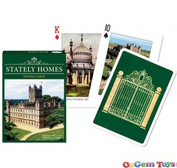 Stately Homes Playing Cards Piatnik