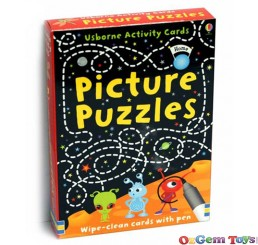 Wipe Clean Picture Puzzles Cards