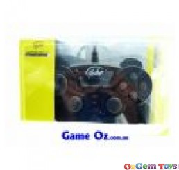 Playstation 2 Controller NEW Yobo Twin Shock 2 Black