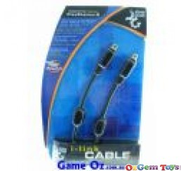 I-Link Cable Link 2 PS2'S Together NEW