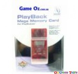 Playback Memory Card For Playstation 1 RED
