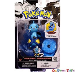 Pokemon Attack Figure Dewott Water Type