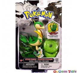 Pokemon Attack Figure Servine Grass Type