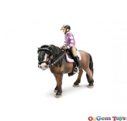 Schleich Pony Riding Set SC42039