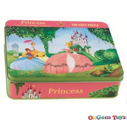 Princess Jigsaw Puzzle 100 Pieces Mudpuppy