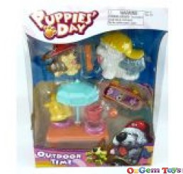 Puppies Day Outdoor Time Playset