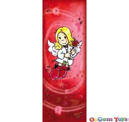 Red Angelis Heye Puzzle Mini Vertical Jigsaw Puzzle 75 Pieces