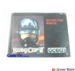 Robo Cop 2 Nes Instruction Manual