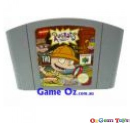 Rugrats Treasure Hunt Nintendo 64 Game