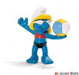 Schleich Beach Volleyball Player Smurf SC20738