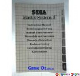 Sega Master System 2 Instruction Manual