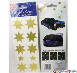Southern Cross Gold Tone Colour Stickers A4 twin pack