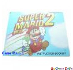 Super Mario Bros 2 Nes Instruction Manual