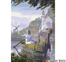 The Gift Metallic Collection Jumbo Jigsaw Puzzle 1000 Pieces
