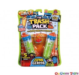The Trash Pack Series 7 Junk Germs 5 Pack