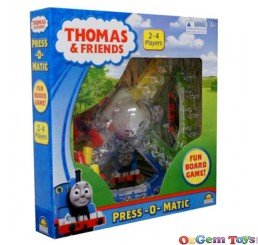 Thomas and Friends Press o matic Board Game